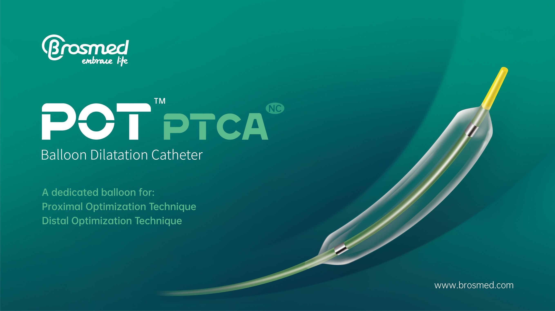 Brosmed receives CE mark approval for POT™ PTCA balloon catheter